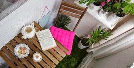 decoracion de una terraza pequeña