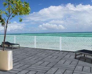 paneles decorativos terraza imagen