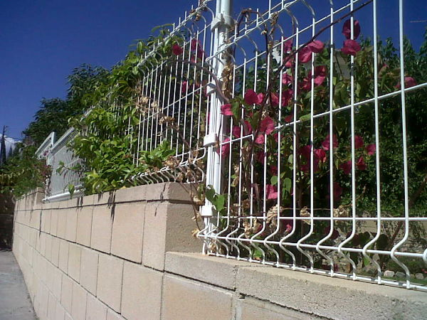 valla-jardin-electrosoldada Vallas de jardín
