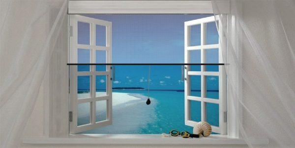 malla mosquitera ventana