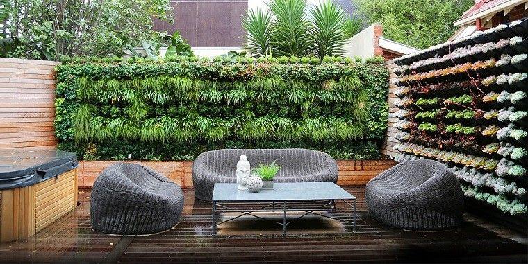 jardin vertical en terraza