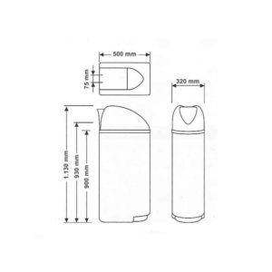 medidas descalcificador compact