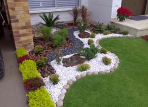 decoracion de jardines con piedras